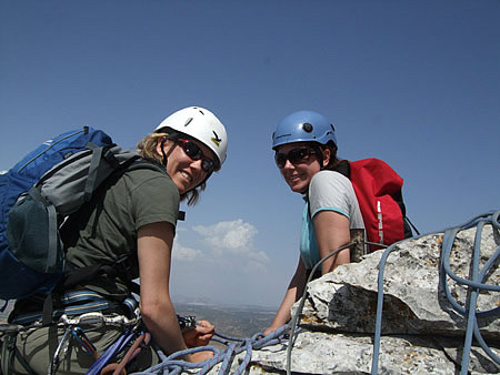 Scrambling at El Torcal